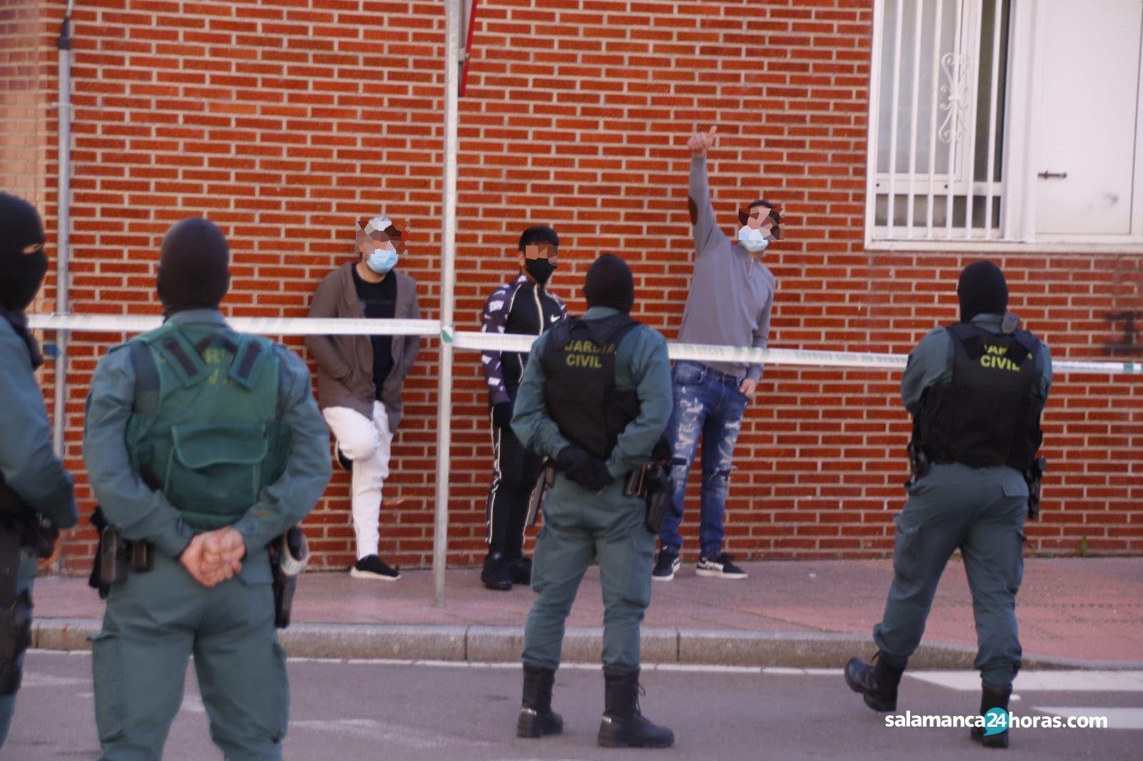 Redada en calle juliana santa marta de tormes (3)