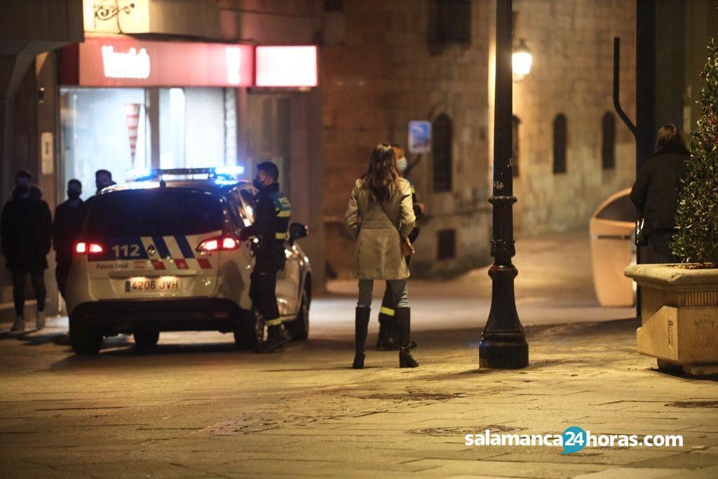 Policia Local mascarilla