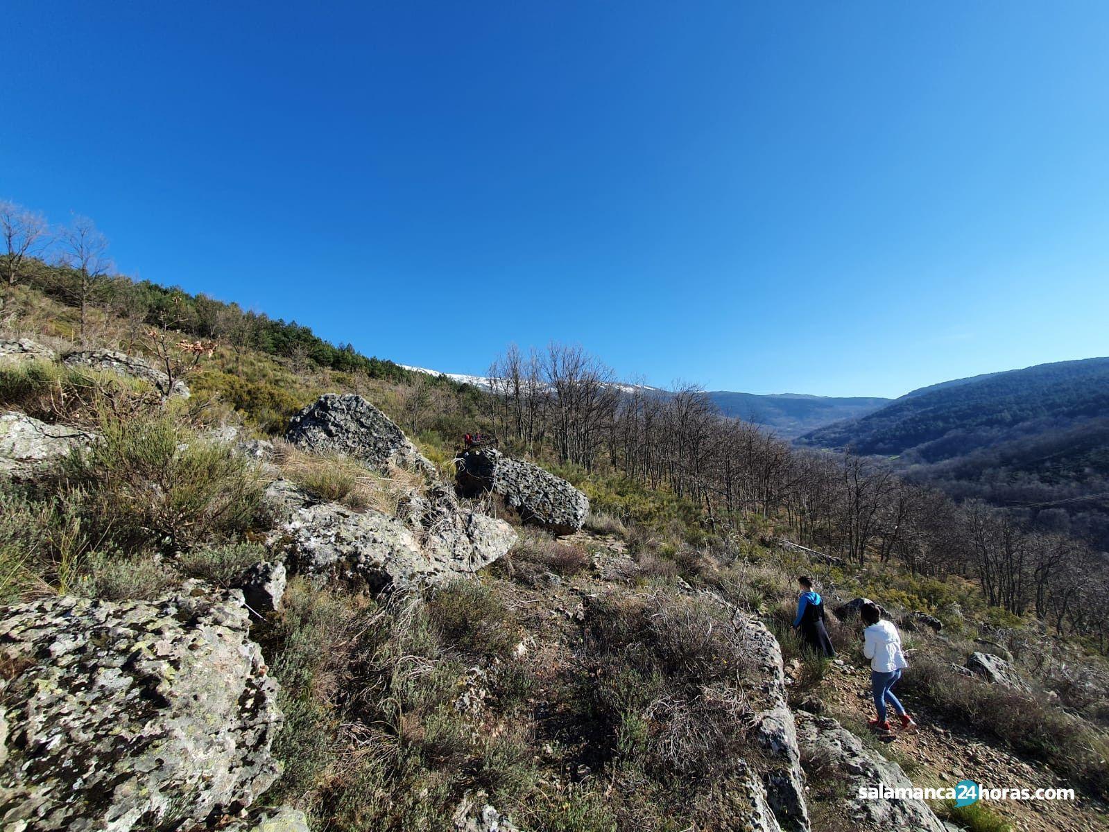 Ruta Cascada de la Mangá (Candelario)