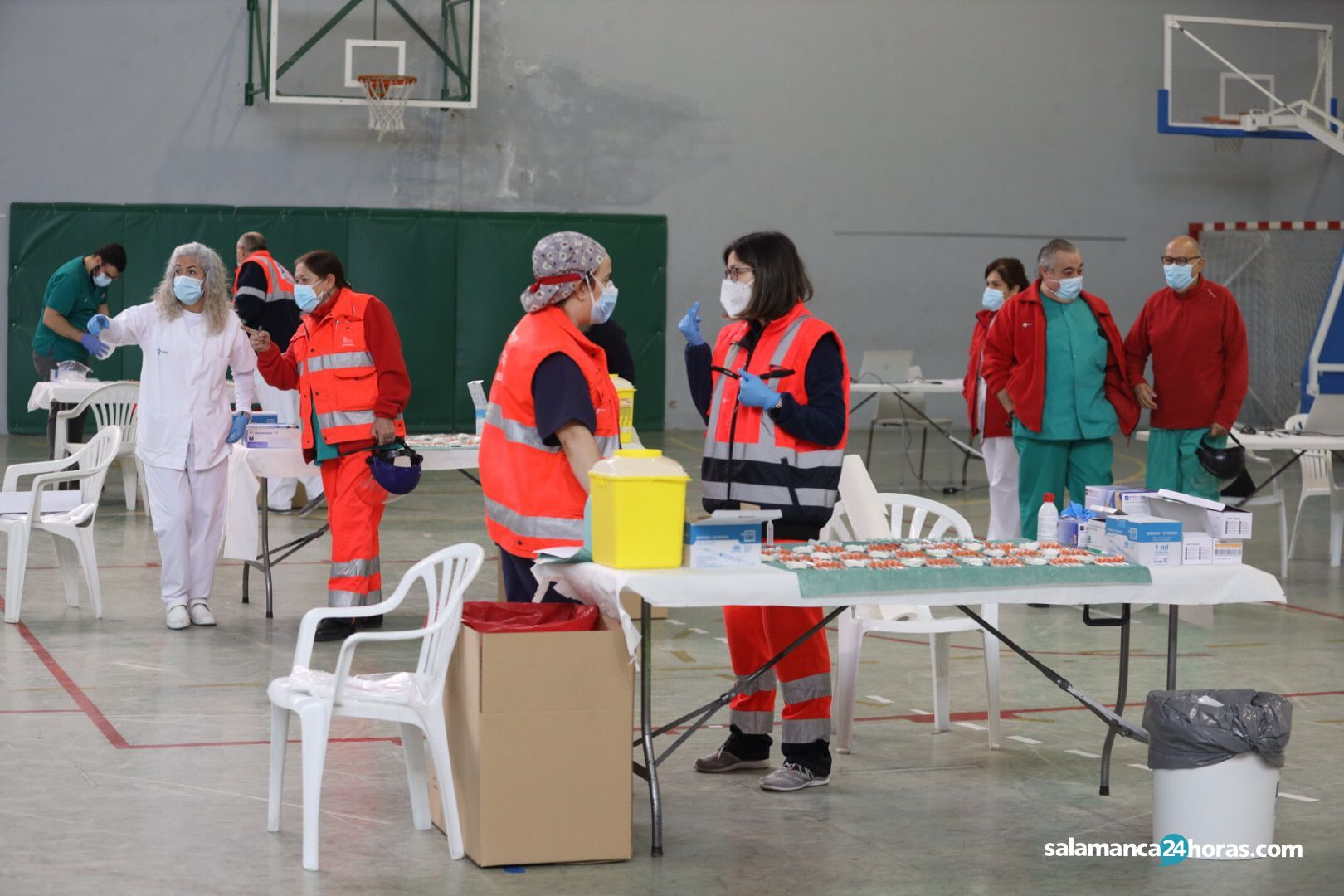 Vacunación de los mayores de 80 años en Santa Marta (24)