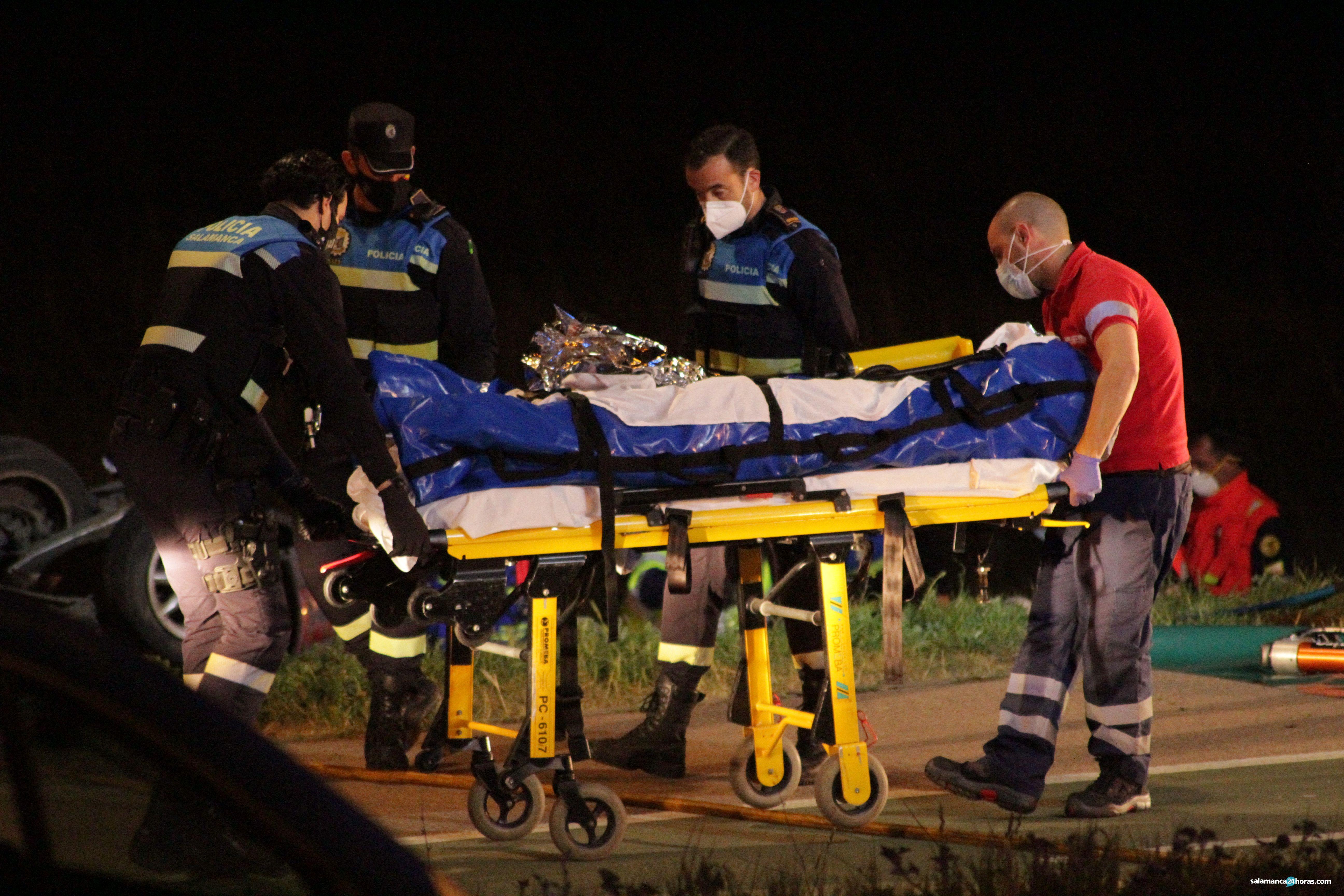Accidente en la carretera de Aldeatejada (60)