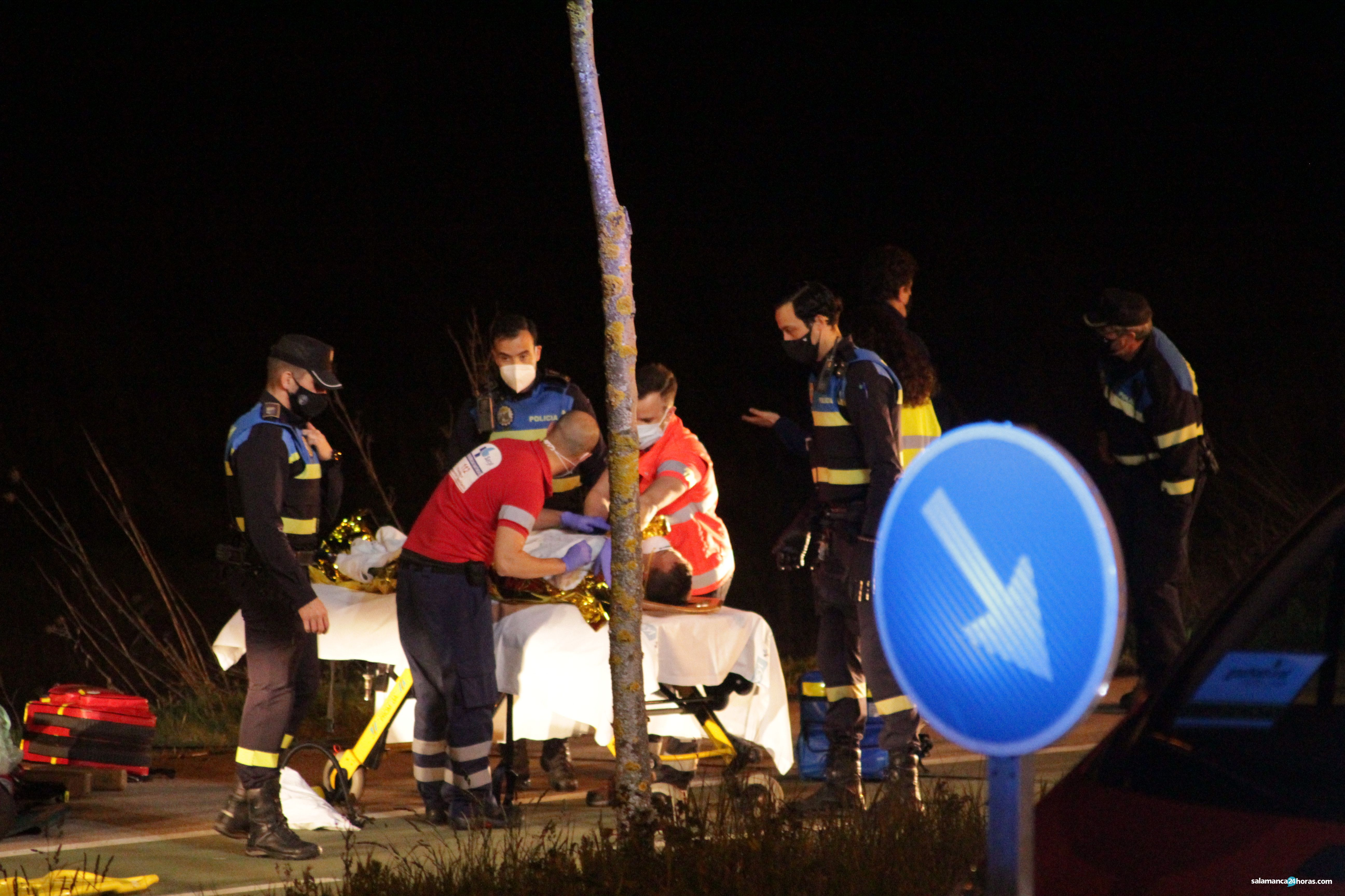 Accidente en la carretera de Aldeatejada (42)
