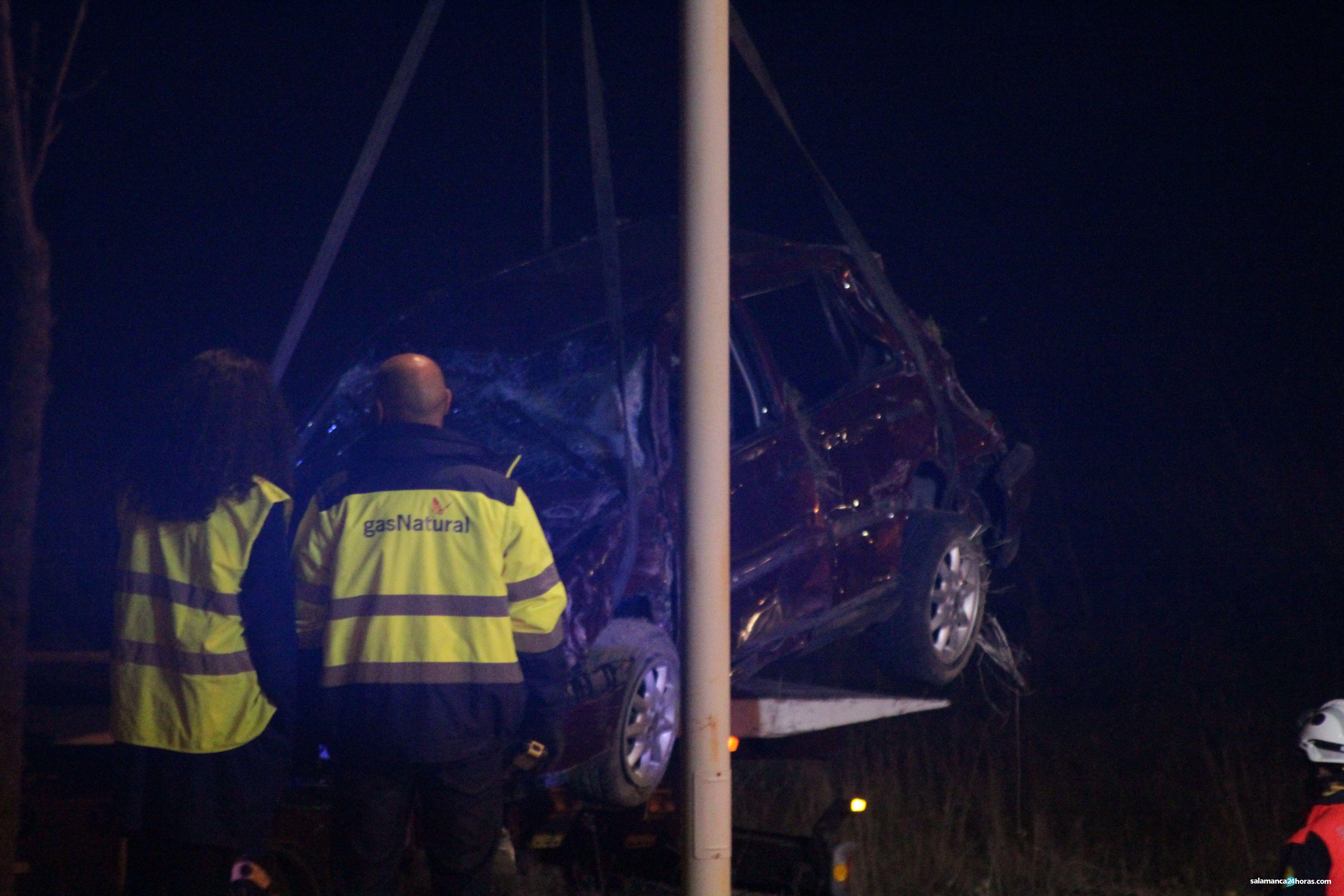 Accidente en la carretera de Aldeatejada (109)
