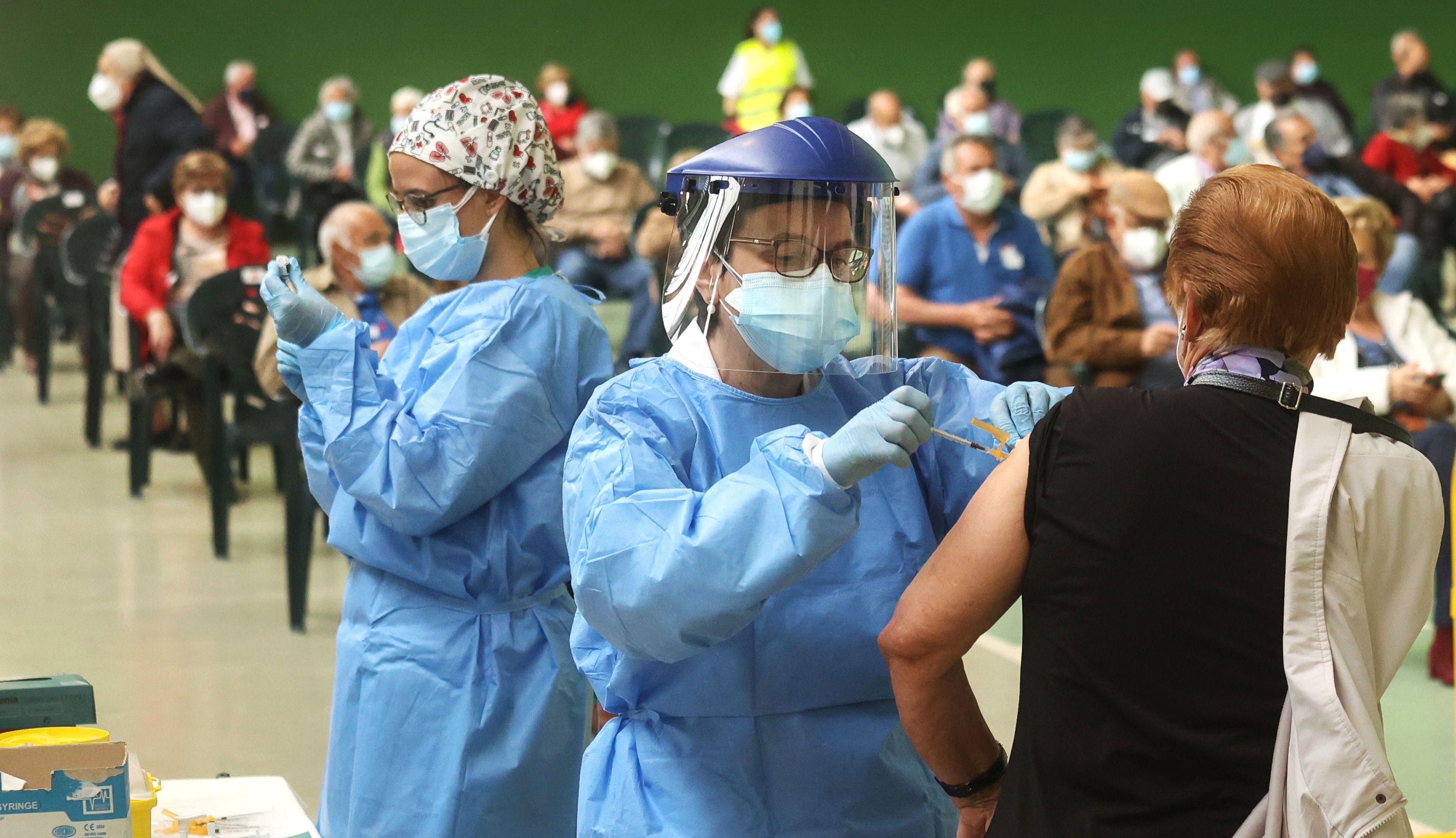 Vacunaciu00f3n en Ciudad Rodrigo, segunda dosis (4)