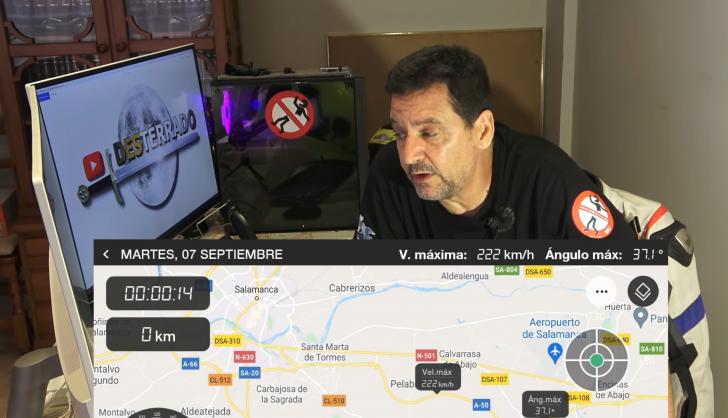 Captura del canal 'DESTERRADO'