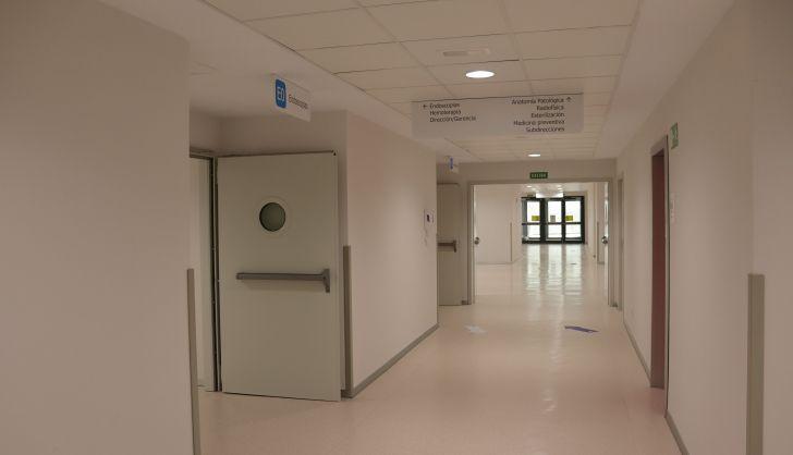 Pasillo de Acceso a la Unidad de Endoscopias