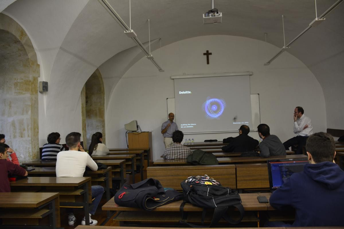 Conferencia Blockchain life.