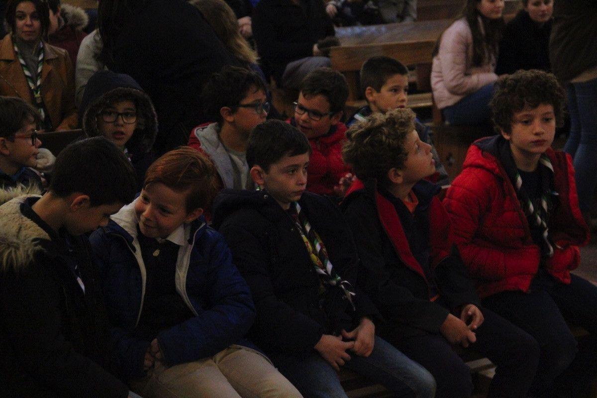 Eucarist a en el colegio calasanz for Salamanca 24 horas
