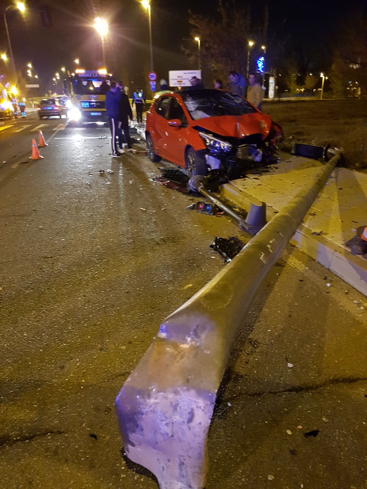 Accidente en la calle Buenaventura