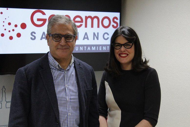 Gabriel Risco y Virginia Carrera