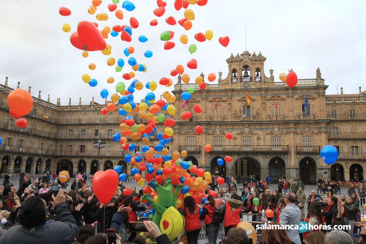 Salamanca celebra el d a internacional del ni o con c ncer for Cerrajeros salamanca 24 horas