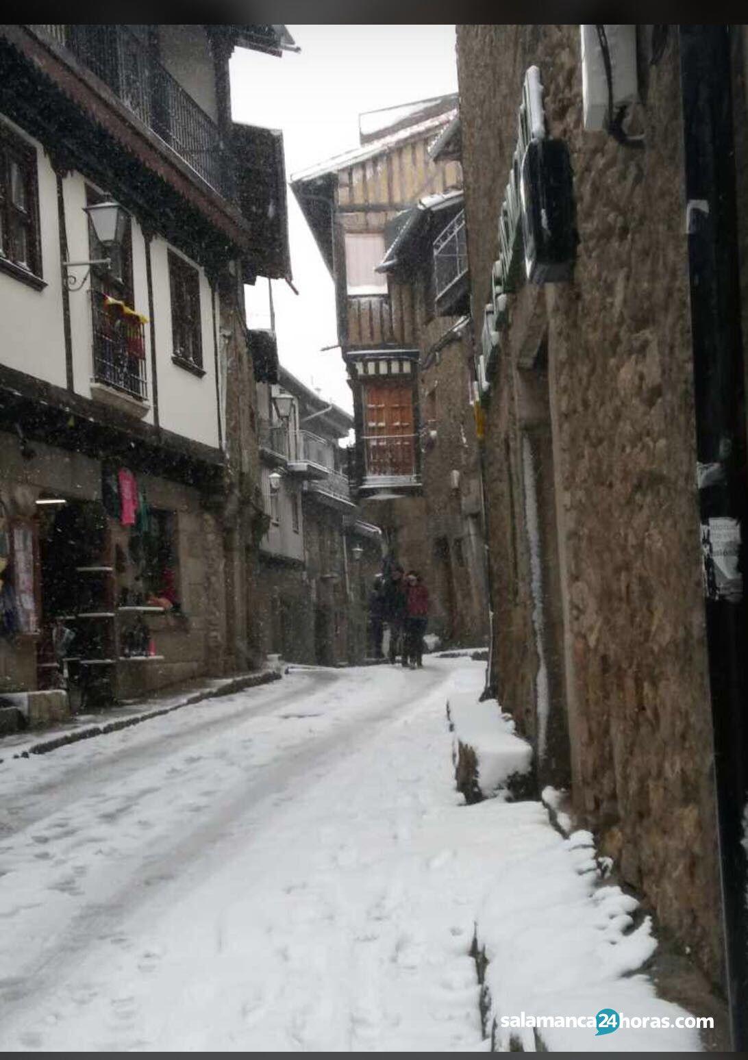 Nieve en la alberca 7 01 2018 for Cerrajeros salamanca 24 horas