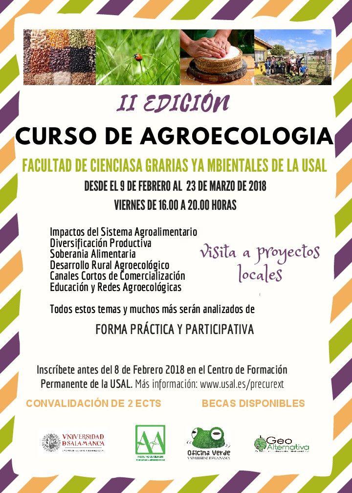CARTEL II EDICION Agroecologia USAL