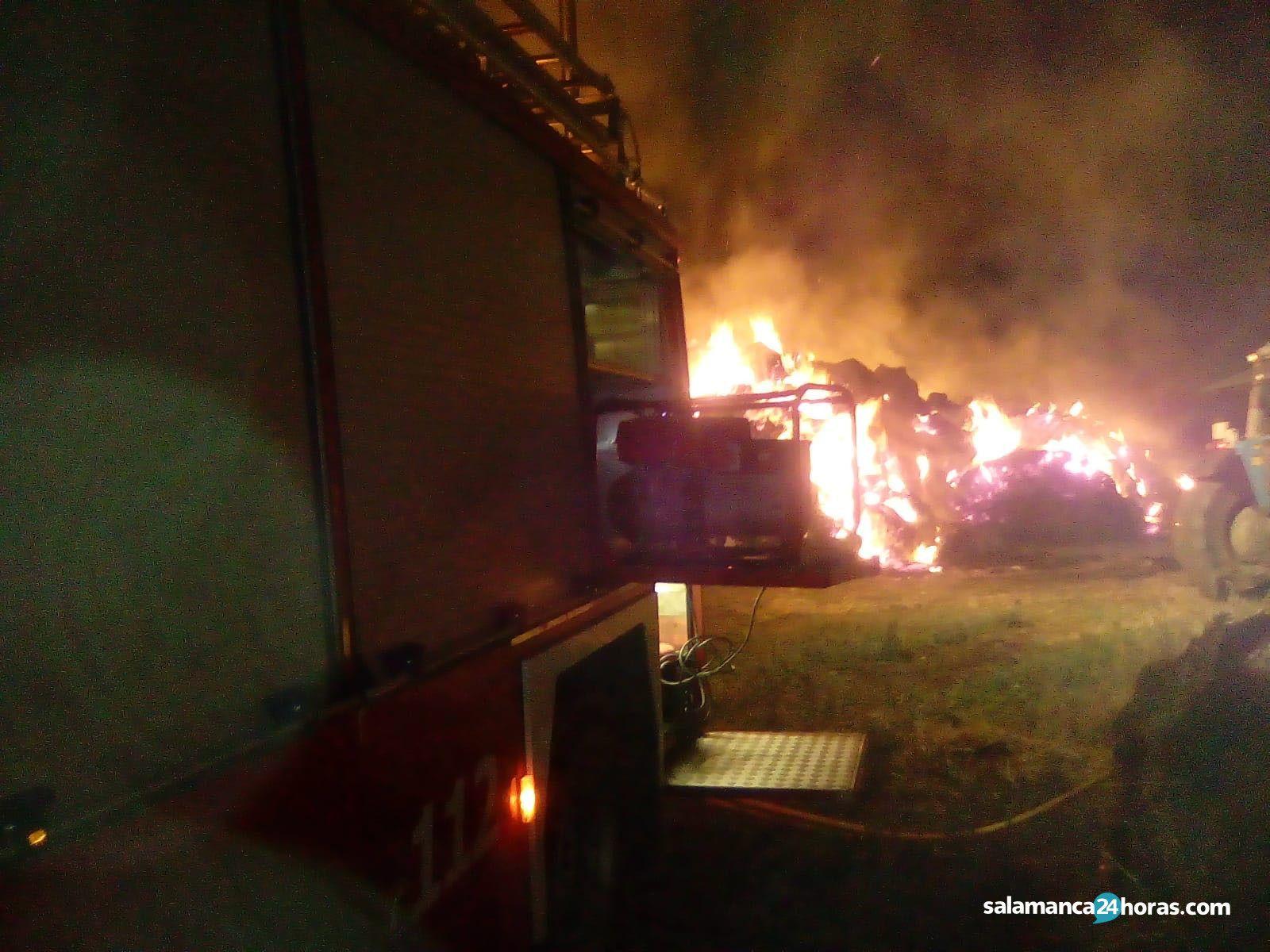 Incendio en Pajera de Portillo de Ejeme