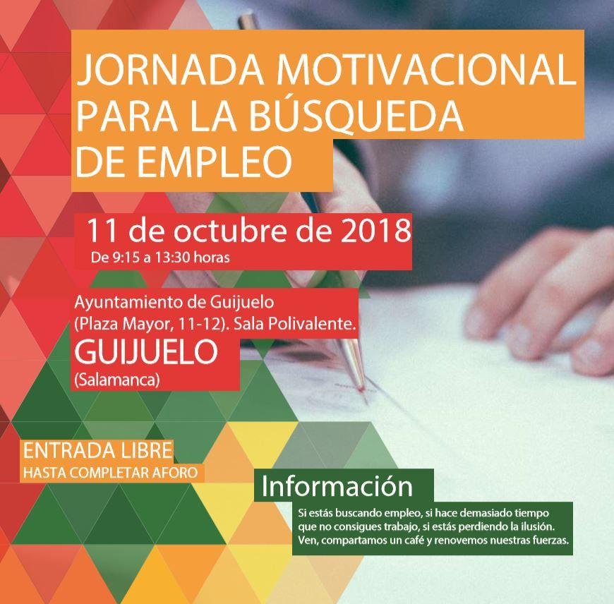 Guijuelo Acoge Este Jueves 11 La Jornada Motivacional Para