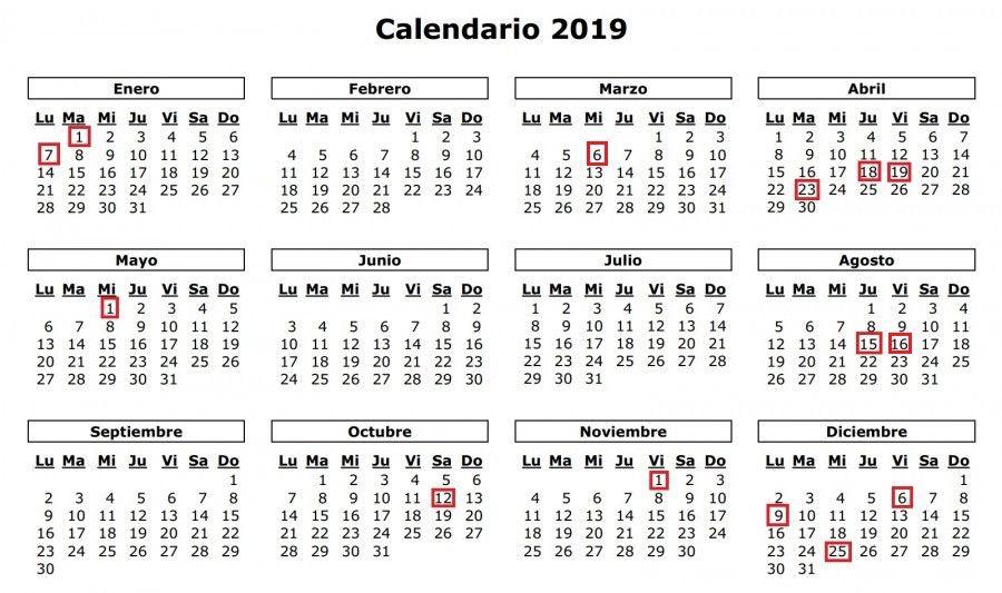 Calendario 2019 Castilla Y Leon.Guijuelo Aprueba Su Calendario Laboral Para 2019