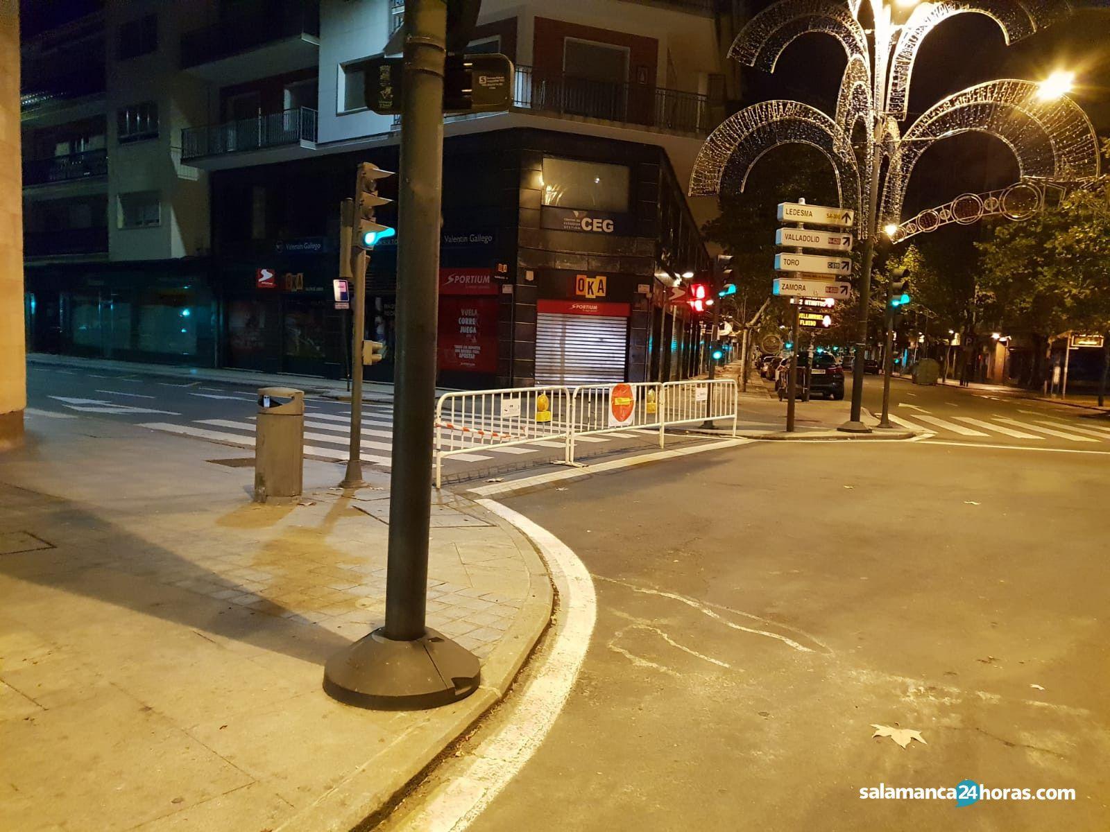 Cortes de tráfico avenida Italia