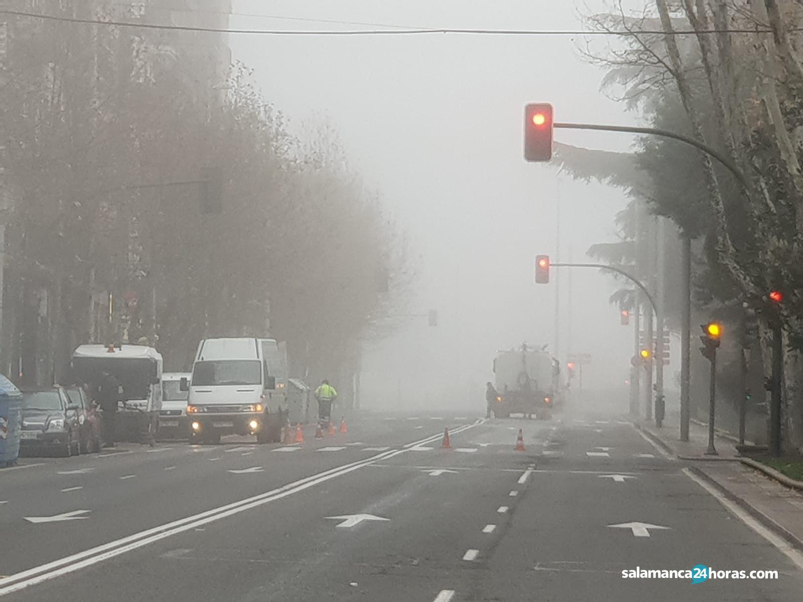 carril cortado torres villarroel niebla