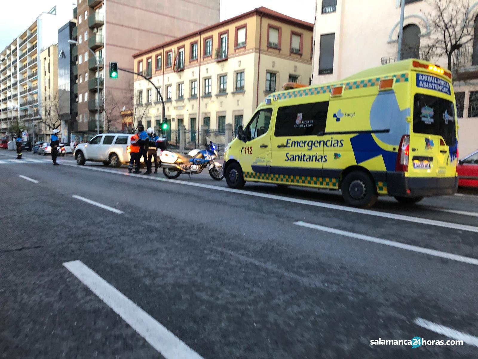 Ambulancia paseo Estación