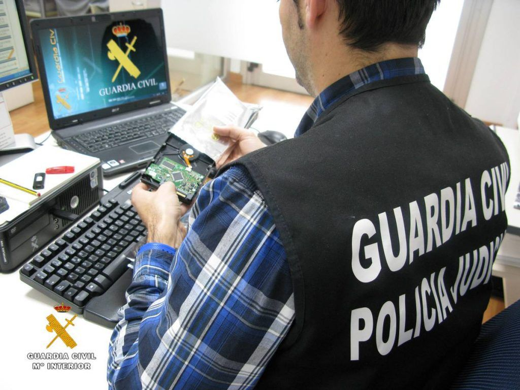 Guardia civil estafa tecnologica