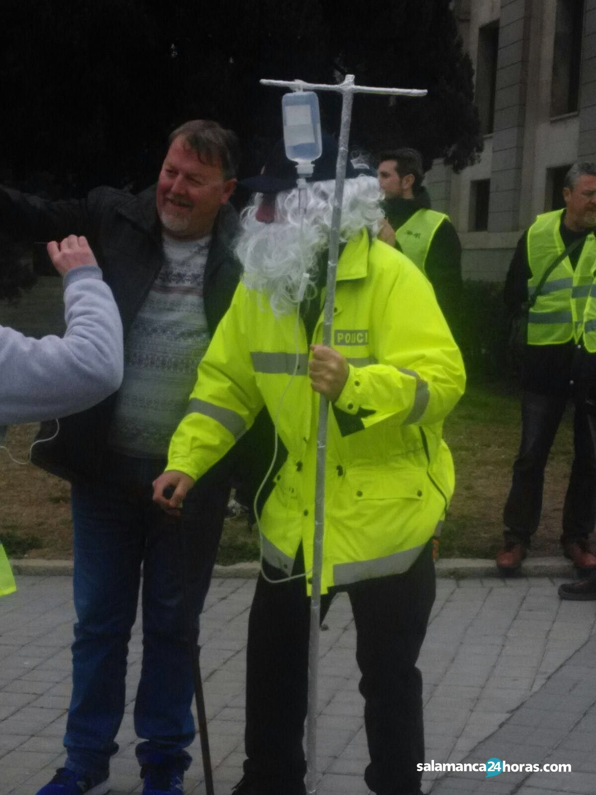 Manifestaci n en madrid por la jubilaci n a los 60 a os for Salamanca 24 horas