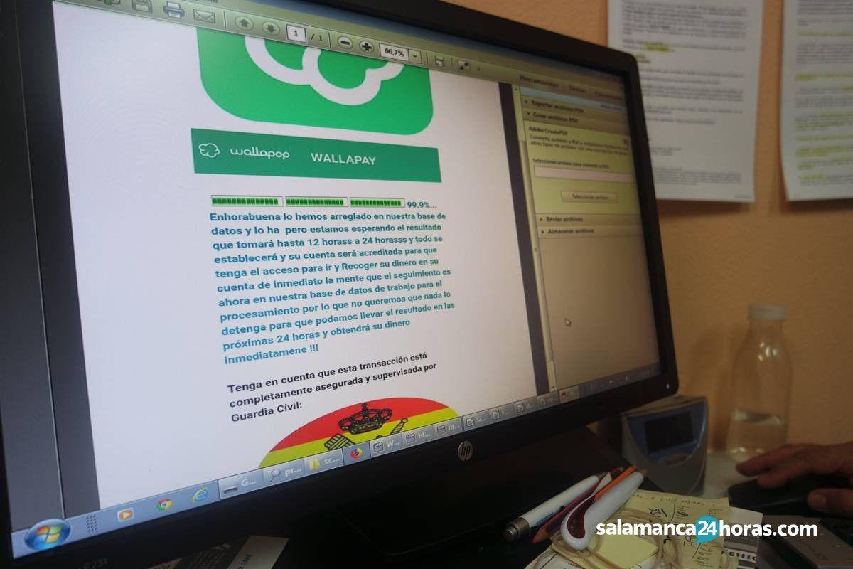 'Las mulas informáticas': una estafa con origen en Nigeria que lleva 56 denuncias y 27 detenciones en Salamanca