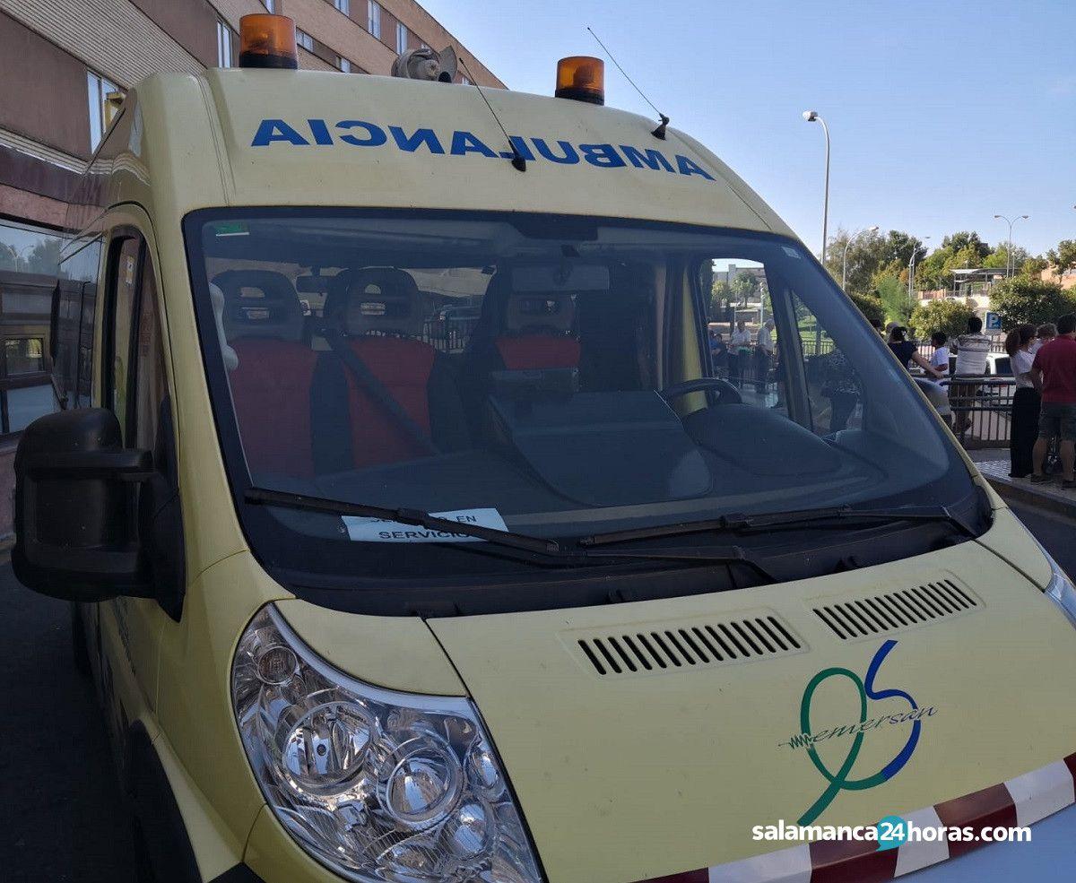 Ambulancia servicios mínimos huelga (1)