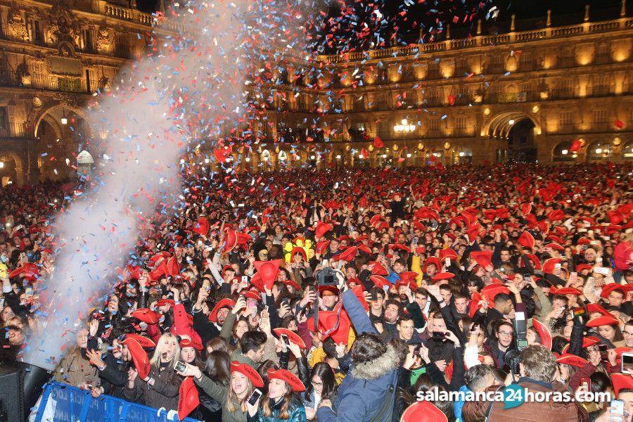La Nochevieja Universitaria será el jueves 12 de diciembre con la oficial 'Fin de Año Universitario' y la paralela 'Cotillón Salamanca'