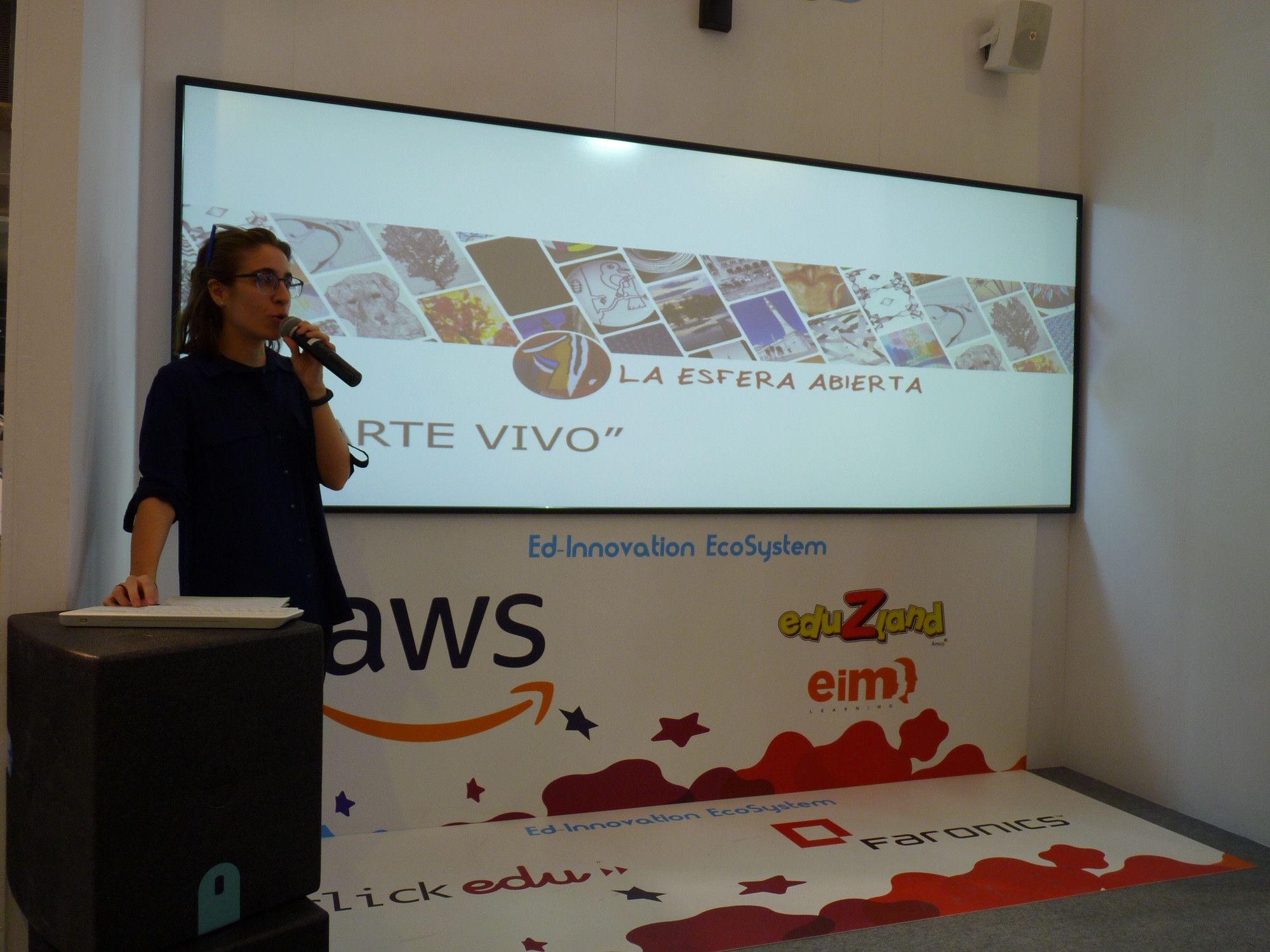 El Colegio San Agustín de Salamanca participa en el Salón Internacional de Tecnología e Innovación Educativa de Madrid - Salamanca 24 Horas