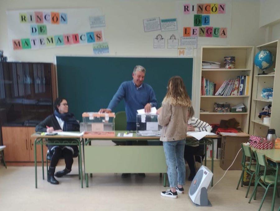 Fría jornada electoral en la provincia sin incidencias - Salamanca 24 Horas