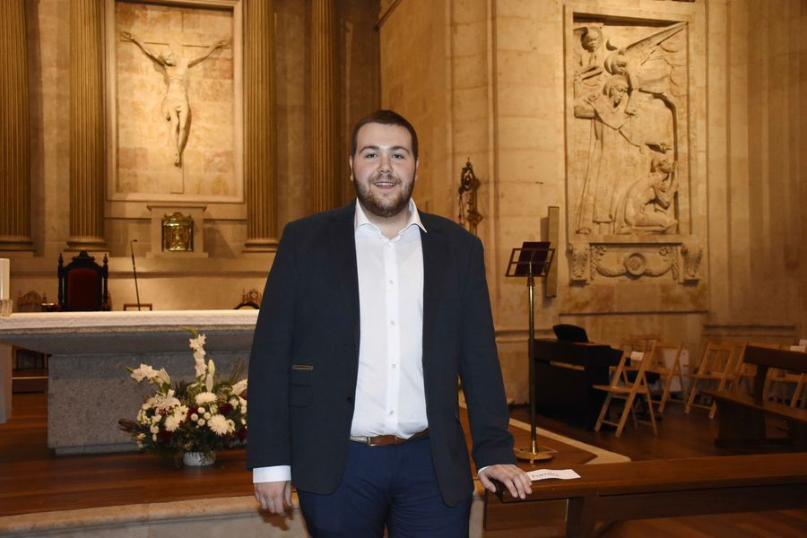 Mario Cabrera, la vocación sacerdotal de un joven de Cantalapiedra - Salamanca 24 Horas