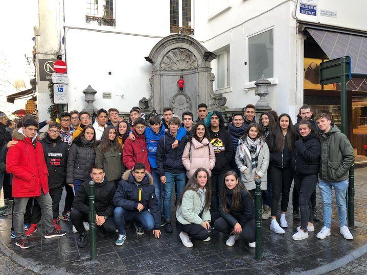 Alumnos del Colegio San Agustín visitan el Parlamento Europeo - Salamanca 24 Horas