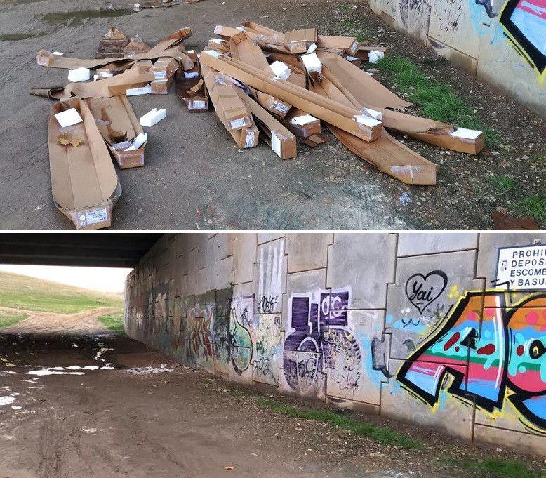 El Ayuntamiento recoge 350 toneladas de escombros en el extrarradio de Salamanca - Salamanca 24 Horas