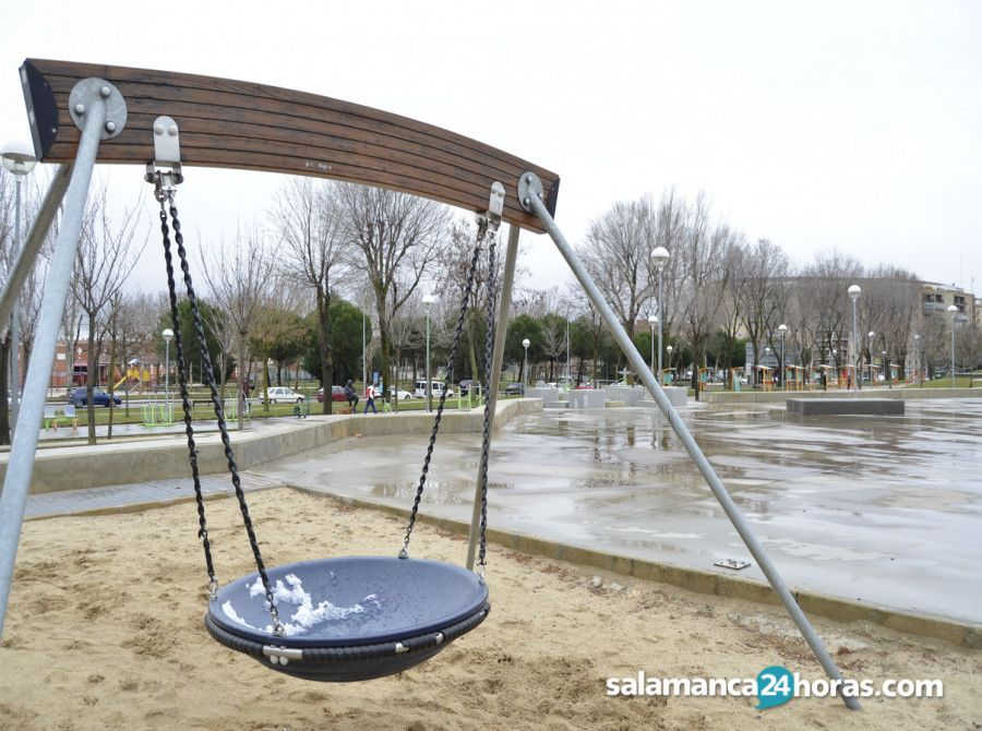 Salamanca comienza la semana con más lluvia y frío - Salamanca 24 Horas