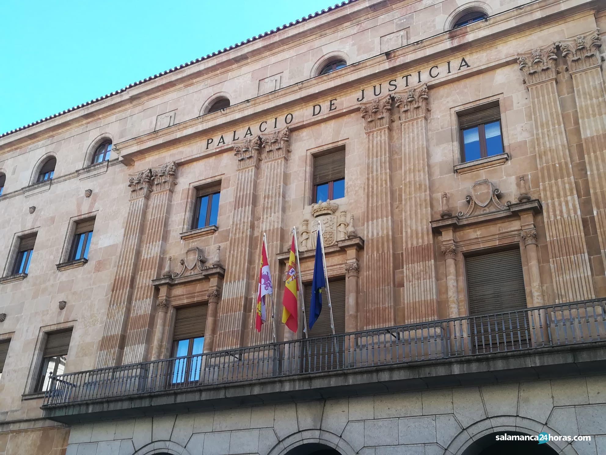 La Audiencia Provincial se traslada a los Juzgados de Colón porque sus barreras arquitectónicas impiden celebrar un juicio - Salamanca 24 Horas