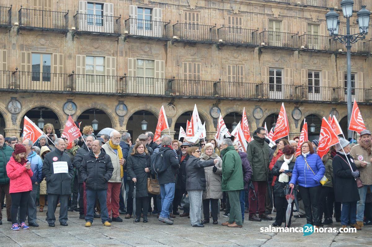 Manifestaci n por las pensiones 17 de marzo for Salamanca 24 horas