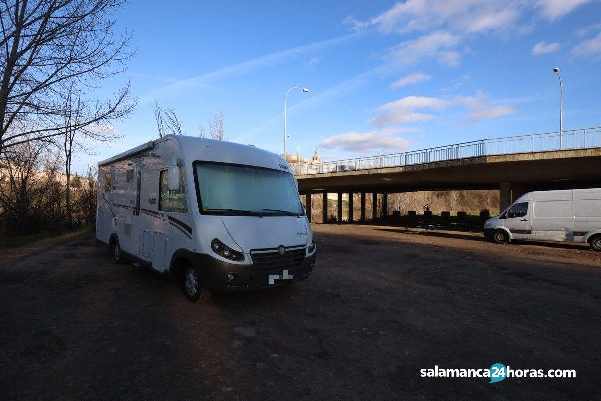 Salamanca, una de la las zonas más hostiles en España para las autocaravanas