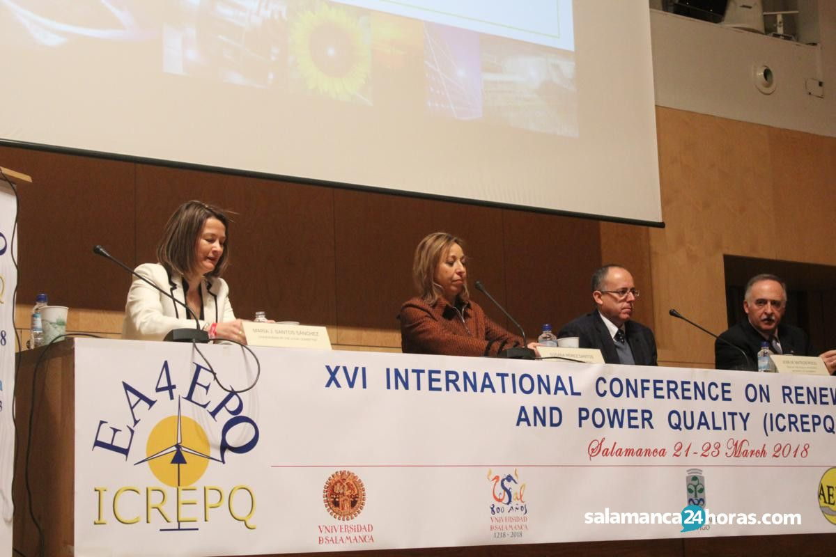 La Universidad celebra la XVI Edición  de la International Conference on Renewable Energies and Power Quality