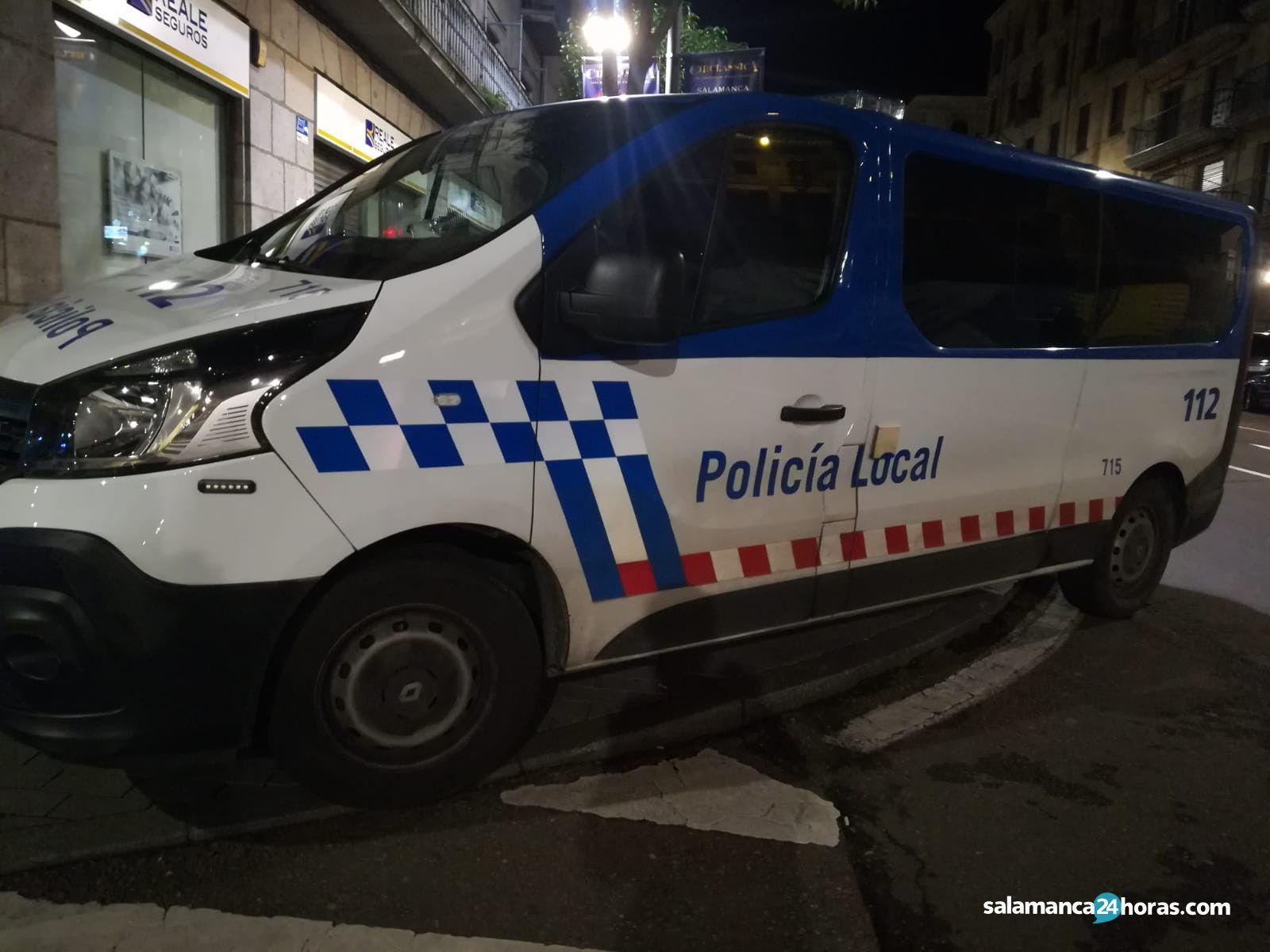 Policía Local gran vía fiesta