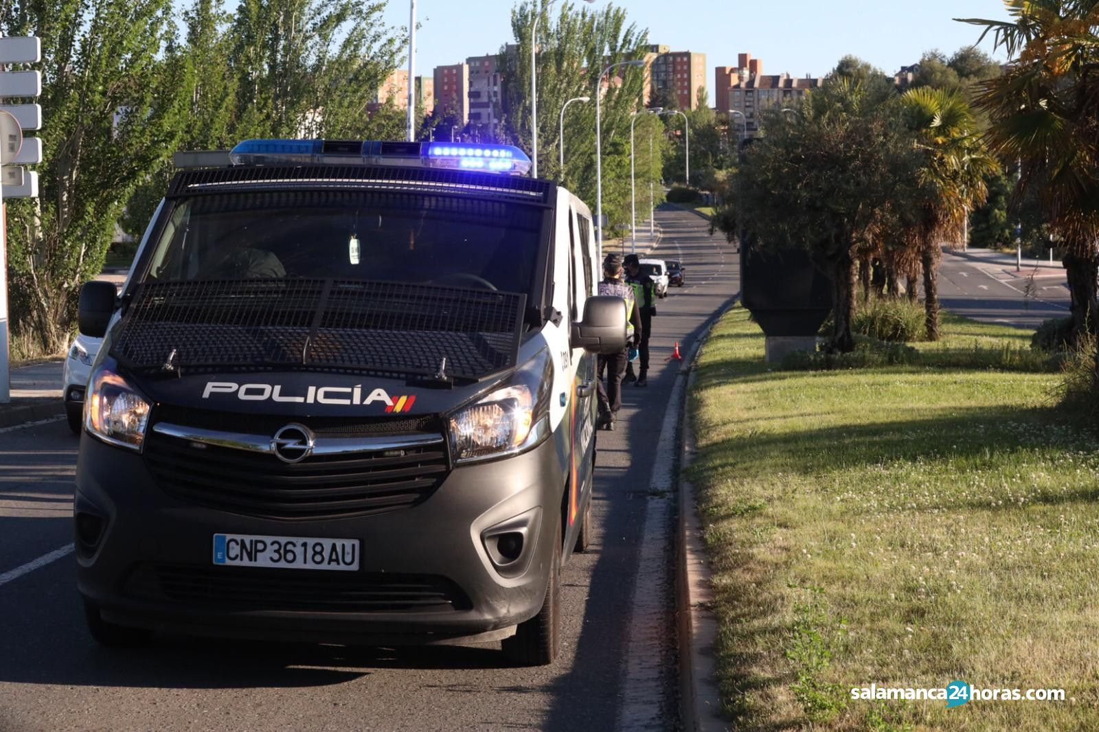 Control policía nacional controles