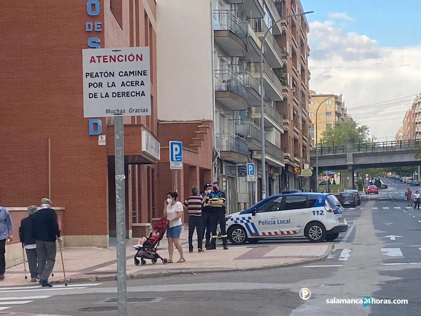 Policía Local en la alamedilla comuneros (11)