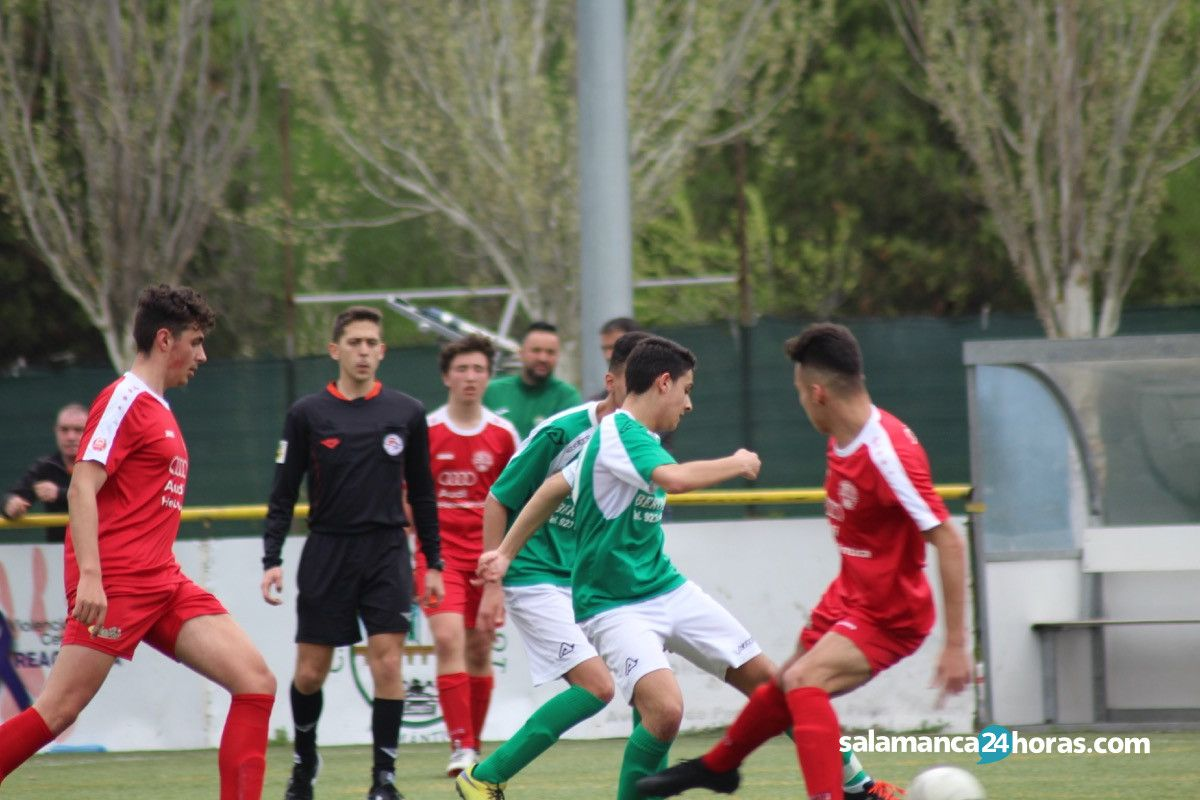 Fútbol base Juvenil: 21 de Abril