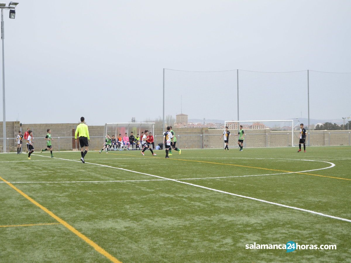 Fútbol base Infantil: 21 de abril