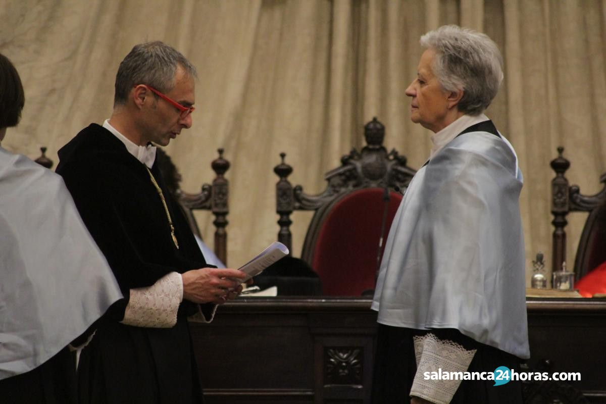 Ceremonia de investidura doctoras honoris causa a Victoria Camps y Adela Cortina