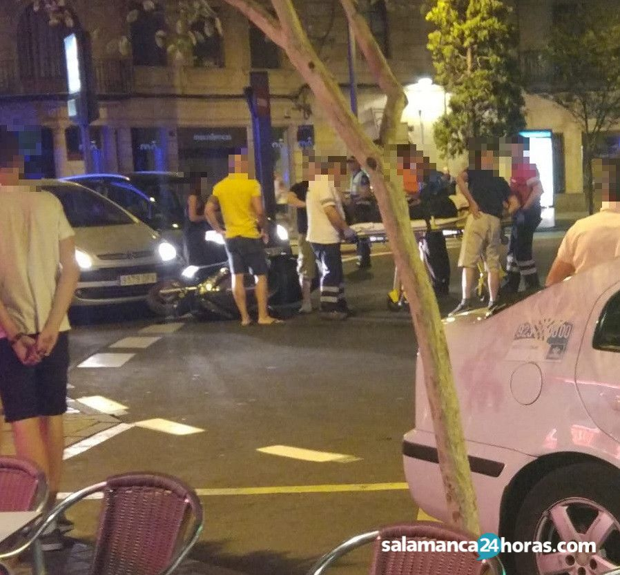 Accidente en la Puerta Zamora 3