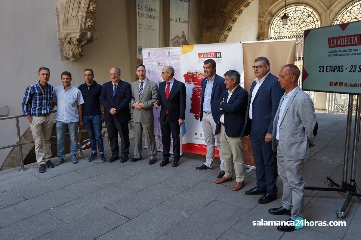 Presentación vuelta ciclista en Salamanca (1)