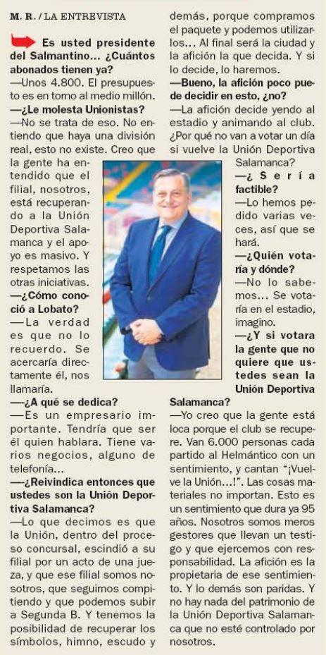 Entrevista Carlos Martu00edn AS