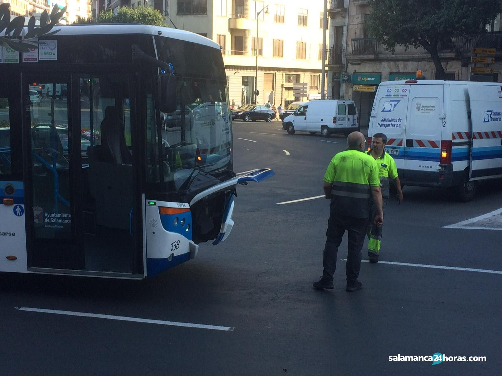 Avería Autobús plaza de España (9)