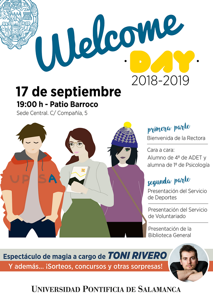 PROGRAMA WELCOME DAY