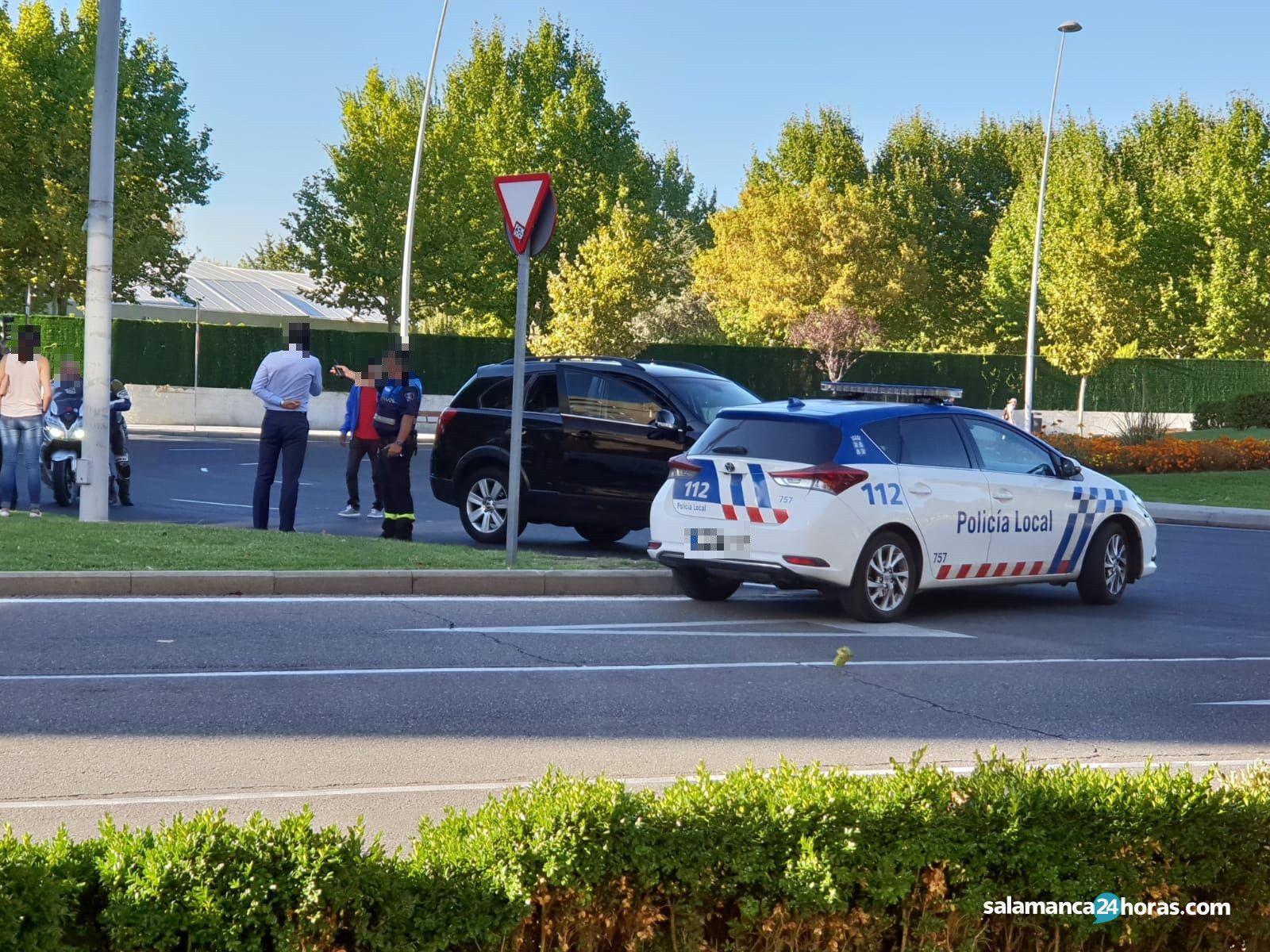 Accidente rotonda Castilla y León (3)